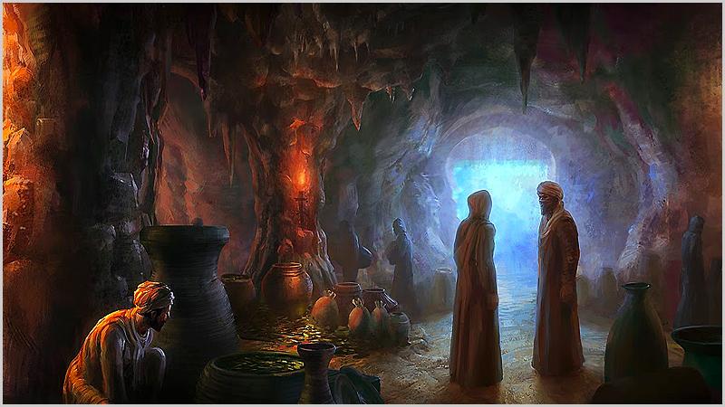 Caverna de Ali Babá e os 40 ladrões - capeiaarraiana.pt