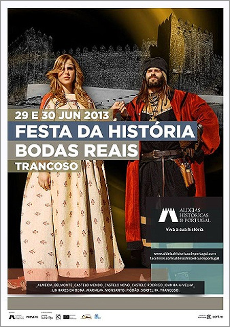 Bodas Reais de D. Isabel de Aragão e D. Dinis de Portugal - Trancoso - capeiaarraiana.pt