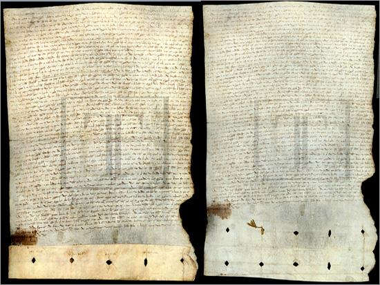 Tratado de Alcanices - Maria Máxima Vaz - Torre do Tombo - Capeia Arraiana
