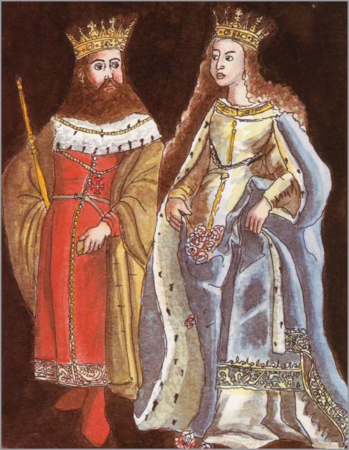 Rei D. Dinis e Rainha Santa Isabel - capeiaarraiana.pt