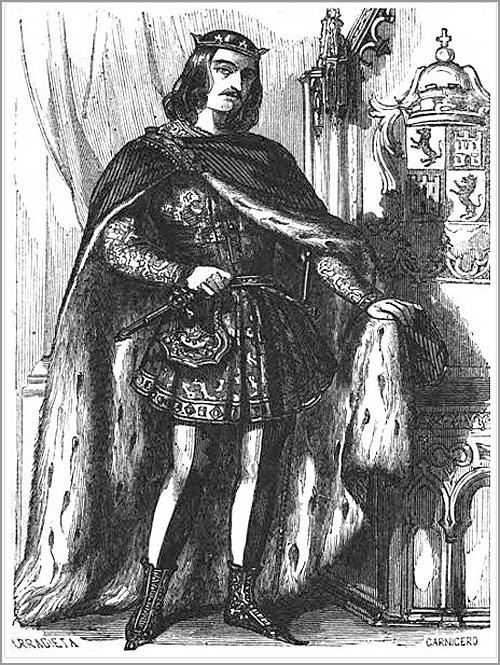 Rei Fernando IV de Castela -  O Emplazado - Capeia Arraiana