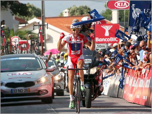 Raul Alarcon - 7.ª etapa - 75.ª Volta Portugal Bicicleta - Capeia Arraiana