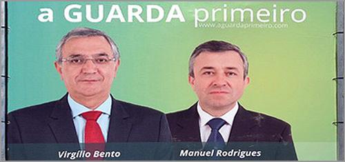 Virgílio Bento e Manuel Rodrigues - Candidatos à Câmara Municipal da Guarda