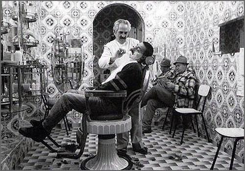 O barbeiro tradicional