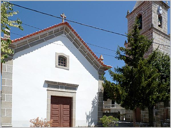 Igreja Matriz de Vila Boa no concelho do Sabugal