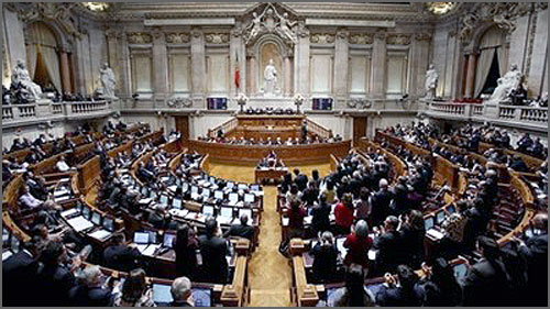 O Parlamento é a sede do poder legislativo