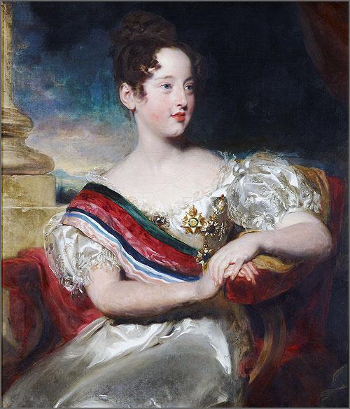 Rainha D. Maria II de Portugal