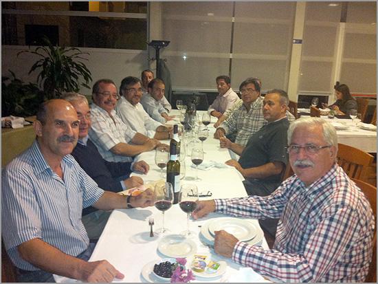 Reunião da Confraria Bucho Raiano na Churrasqueira Campo Grande - capeiaarraiana.pt
