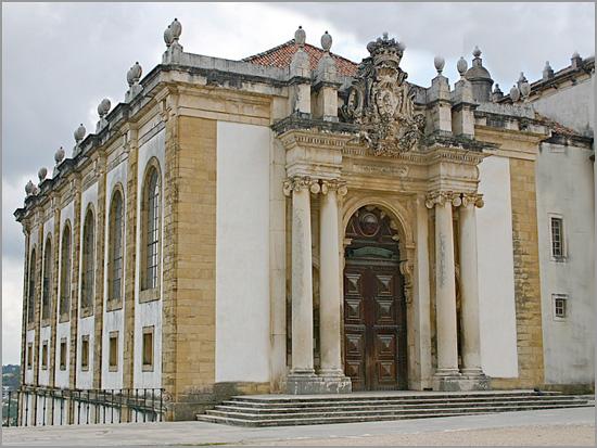 Biblioteca Joanina - Universidade Coimbra - Capeia Arraiana
