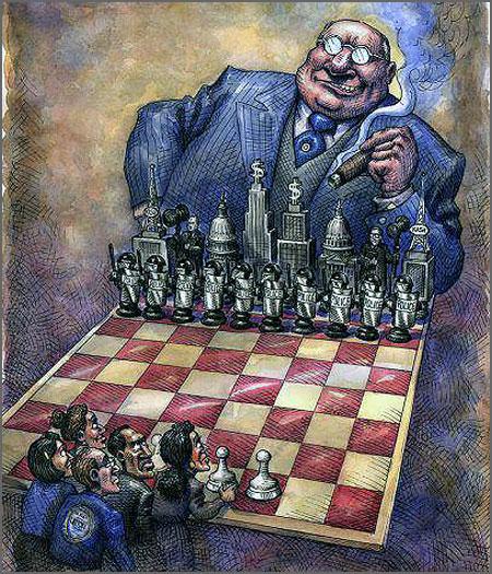 Capital versus Trabalho (cartoon: D.R.)