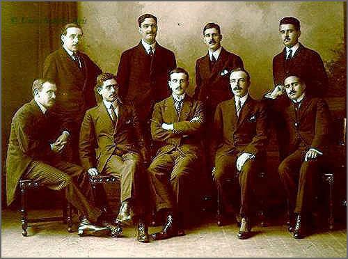 Fundadores e dirigentes do Integralismo Lusitano