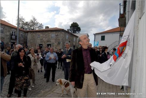 Manuel António Pina no Sabugal, homenageado pela Junta de Freguesia
