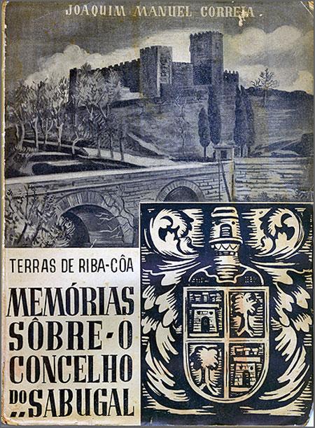«Memórias sobre o concelho do Sabugal» - capa da 1.ª edição