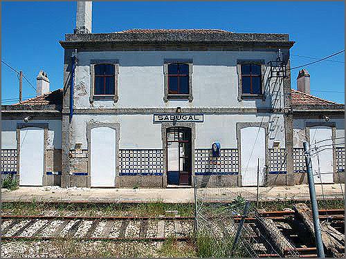 Estação do Sabugal está abandonada