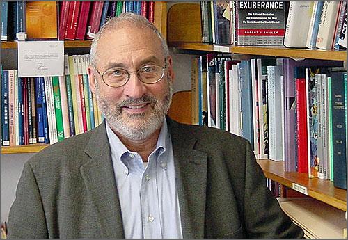 O economista norte-americano Joseph Stiglitz