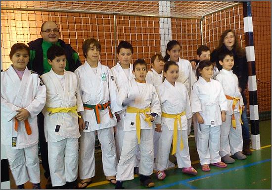 Os jovens atletas sabugalenses