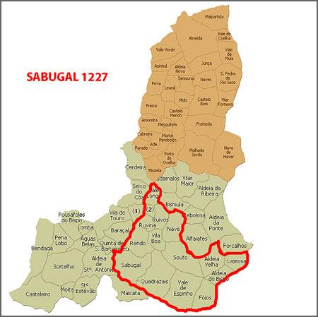 Sabugal depois da criação do concelho de Vilar Maior