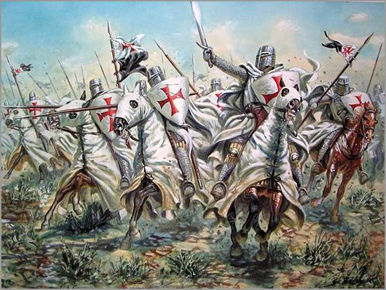Cavaleiros Templários nas Cruzadas - Maria Máxima Vaz - Capeia Arraiana