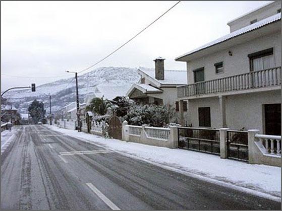 Neve no Casteleiro