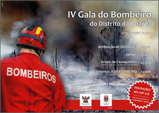 Gala do Bombeiro vem ao concelho do Sabugal