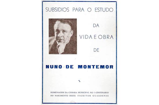 Subsídios para o estudo da vida e obra de Nuno de Montemor - Maria Máxima Vaz - Capeia Arraiana