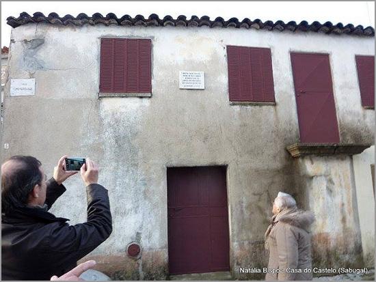 Casa onde nasceu Nuno de Montemor - Quadrazais - Sabugal - Capeia Arraiana (foto: Natália Bispo)