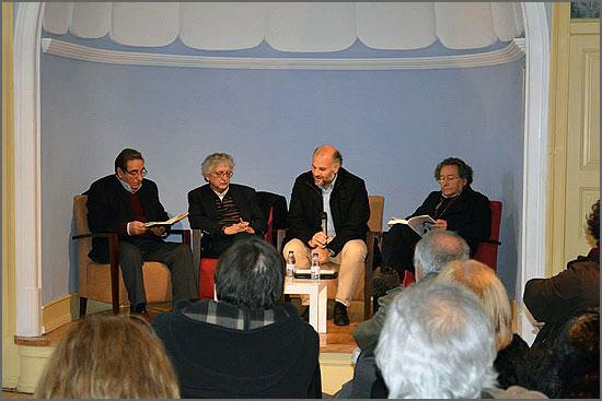 Apresentação do livro de Fernando Dacosta no Fundão