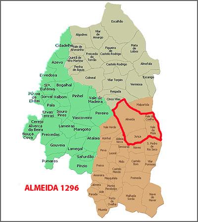 Almeida em 1296