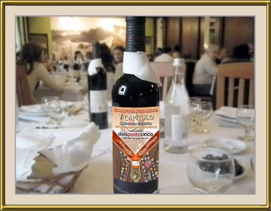 Imagem da Semana - Vinho DoisPontoCinco - Adega de Belmonte - V Capítulo da Confraria do Bucho Raiano - Aldeia do Bispo - Sabugal