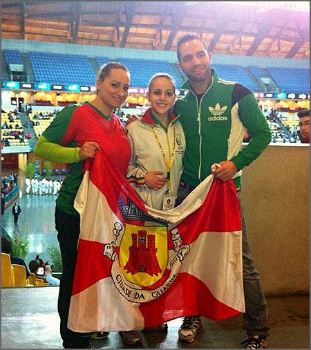 Rita Morgado após a boa prestação no torneio
