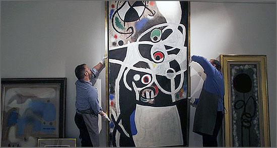Estado quer vender quadros de Miró