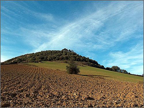 Terra lavrada (miúdo) – regos e gomas ténues