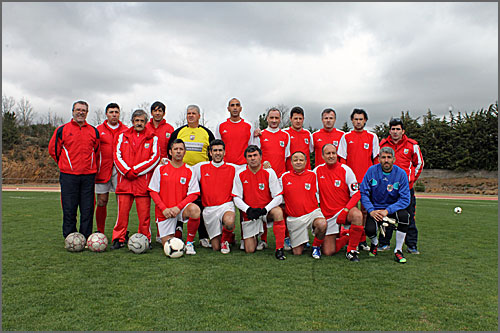 Os veteranos do Régua FC alcançaram o 2º lugar