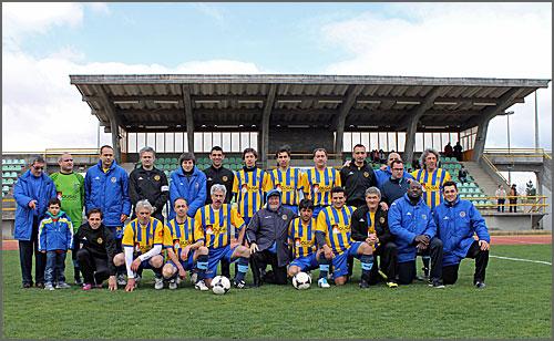 A equipa do SC Alba ficou no 5º lugar