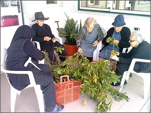 Tarefas colectivas como na agricultura