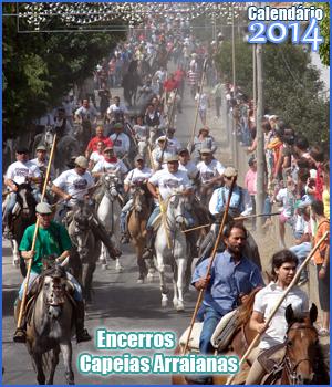 Calendário 2014 - Encerros e Capeias Arraianas- Sabugal