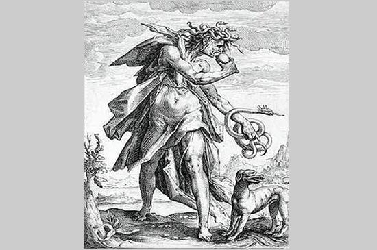 A inveja - conforme Sebastián de Covarrubias (gravura do séc. XVI)