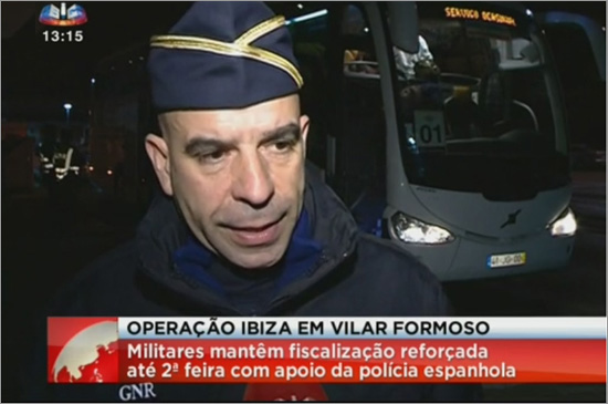 Operação Ibiza em Vilar Formoso - Reportagem SIC Notícias