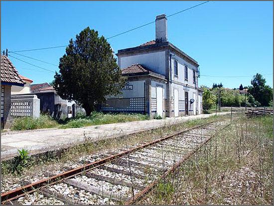A Estação do Sabugal votada ao abandono