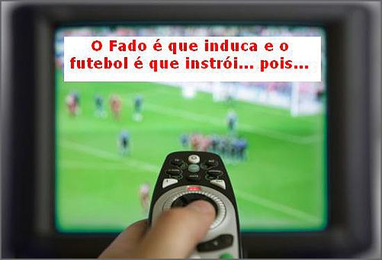 Os programas mais vistos são transmissões de futebol