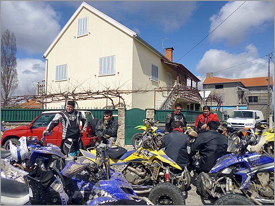 Convívio motard no Ozendo - ARCO - Elisabete Robalo - Capeia Arraiana