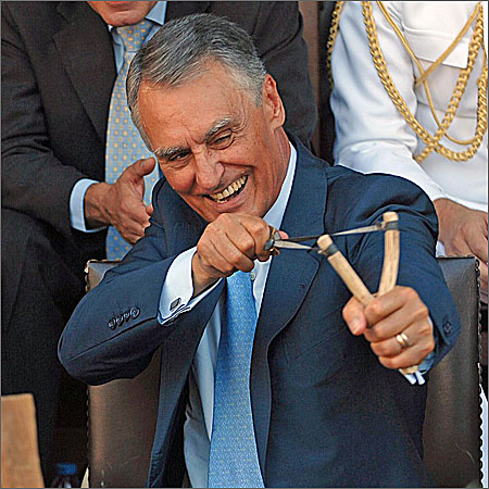 Cavaco Silva - o ocupante do Palácio de Belém