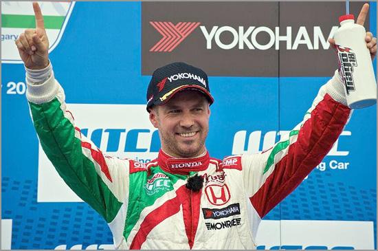 Tiago Monteiro - Honda Civic - WTCC - Capeia Arraiana