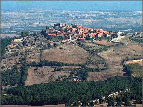 Vista do Castelo de Castelo Rodrigo