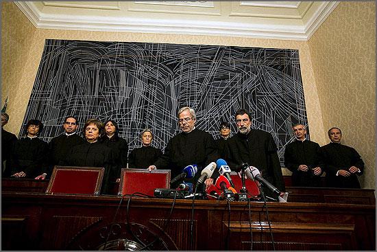 Juízes do Tribunal Constitucional