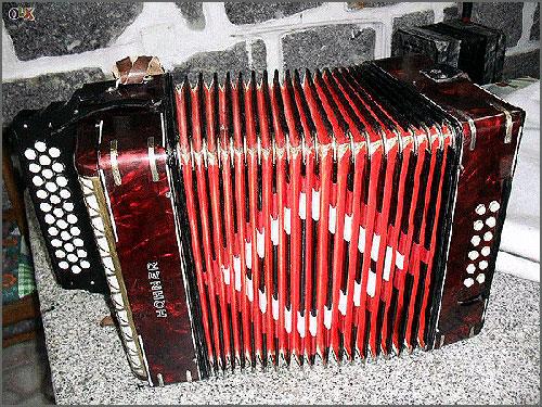 A concertina era a rainha do baile