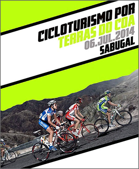 Cicloturismo Terras do Côa (pormenor do cartaz)