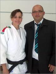 Judoca Carla Vaz e David Carreira - Sporting Clube Sabugal - Capeia Arraiana