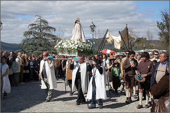Procissão de Nossa Senhora do Incenso em Penamacor