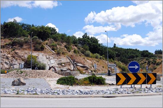 Rotunda Caria - Belmonte - Capeia Arraiana